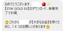 stay gold ex 詐欺